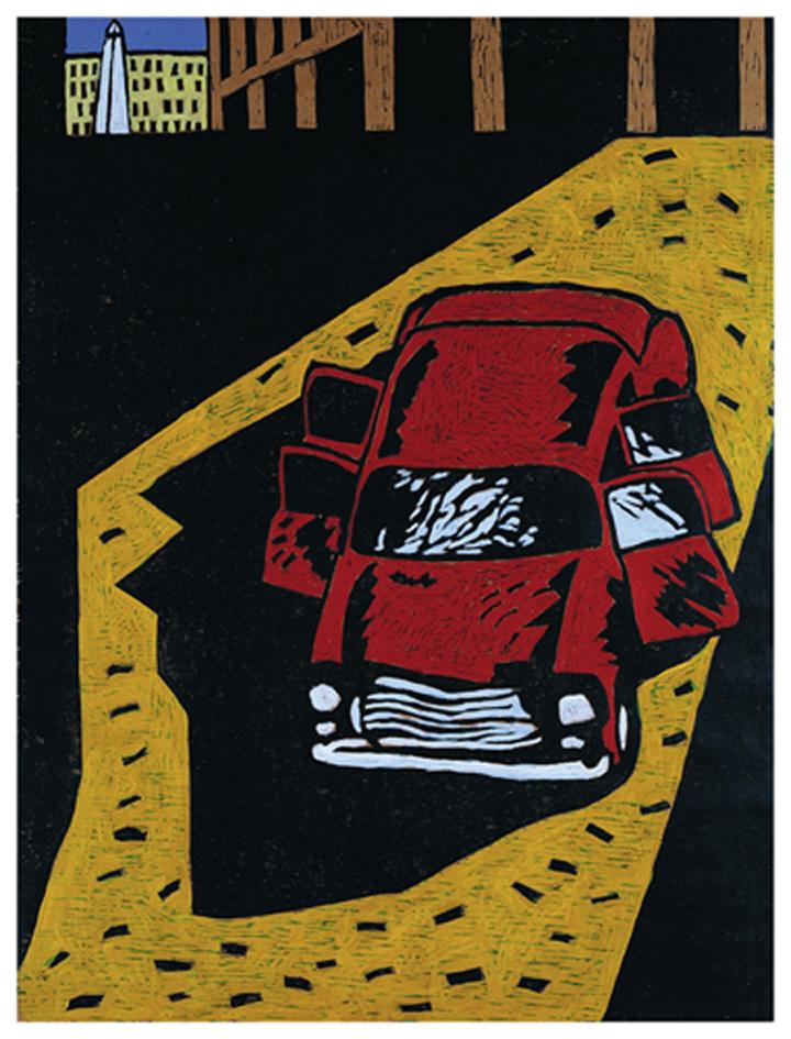 A.Auto rojo(85)