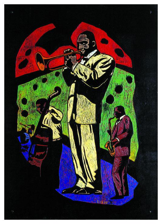Musicos de jazz