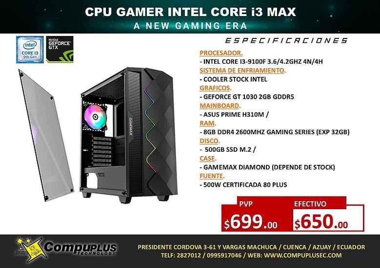 CPU GAMER INTEL I3 MAX