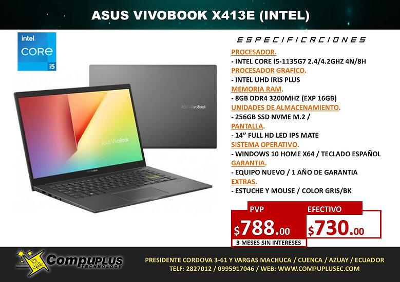 ASUS VIVOBOOK X413 (INTEL i5)