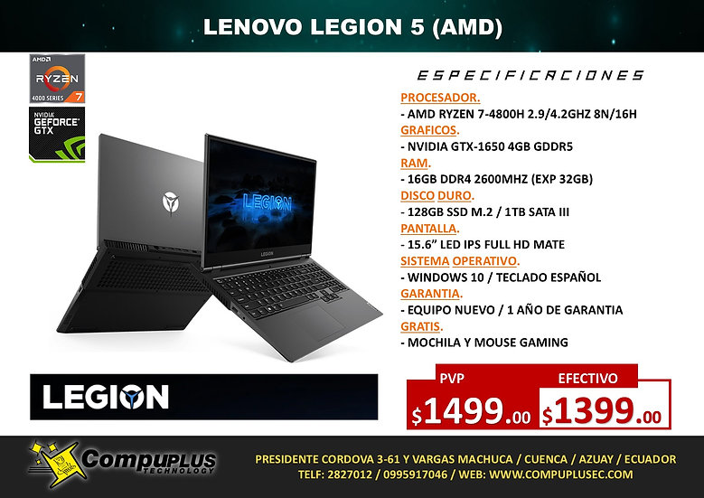 LENOVO LEGION 5 (AMD)