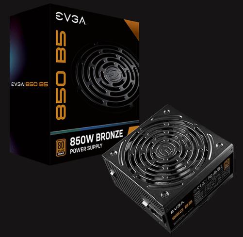 EVGA 850 B5 80 PLUS BRONZE