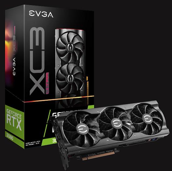 GPU EVGA XC3 ULTRA  RTX 3080 10GB
