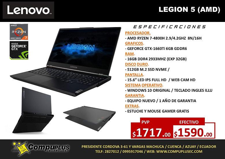 LENOVO LEGION 5 (AMD)