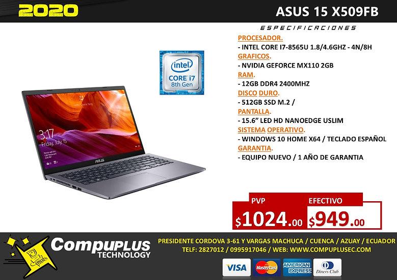ASUS 15 X509FB