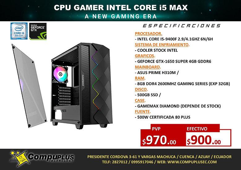 CPU GAMER INTEL I5 MAX