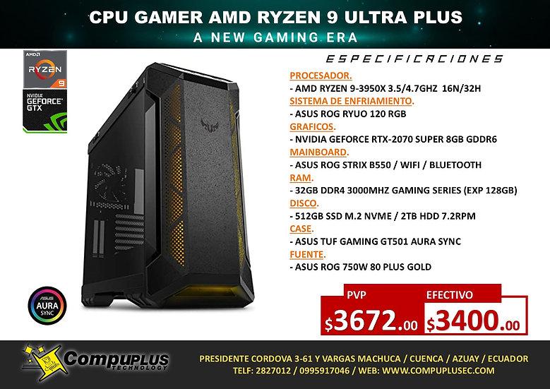 CPU GAMER AMD RYZEN 9 ULTRA PLUS