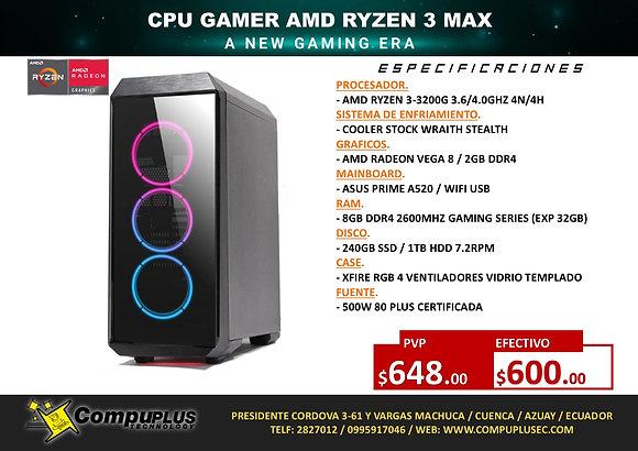 CPU GAMER AMD RYZEN 3 MAX