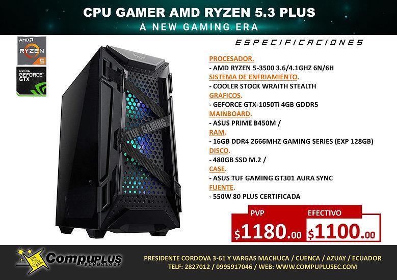 CPU GAMER AMD RYZEN 5.3 PLUS