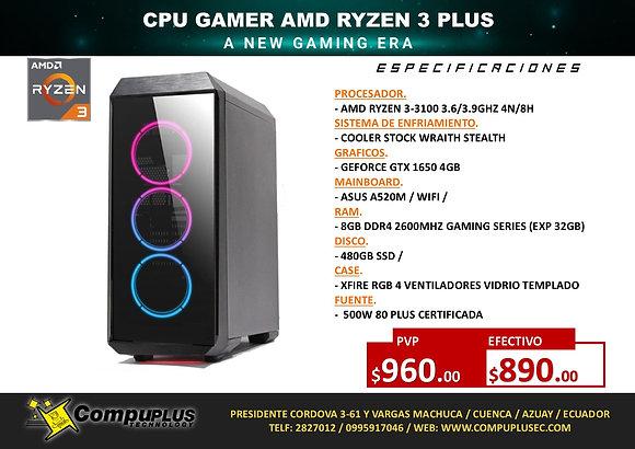 CPU GAMER AMD RYZEN 3 PLUS