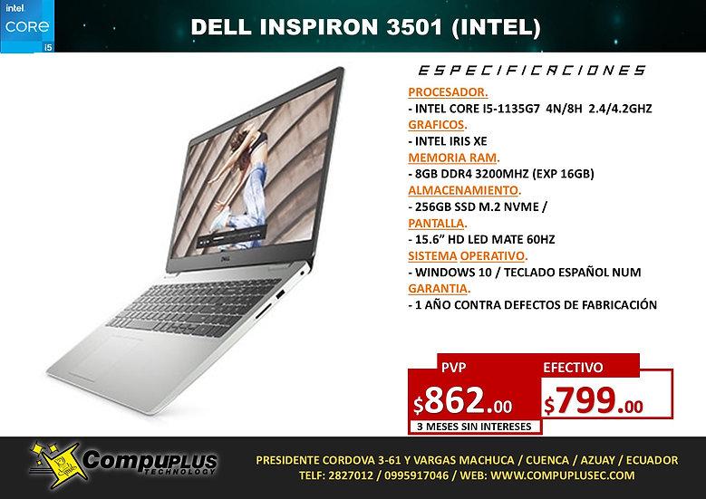 DELL INSPIRON 3501 (INTEL)