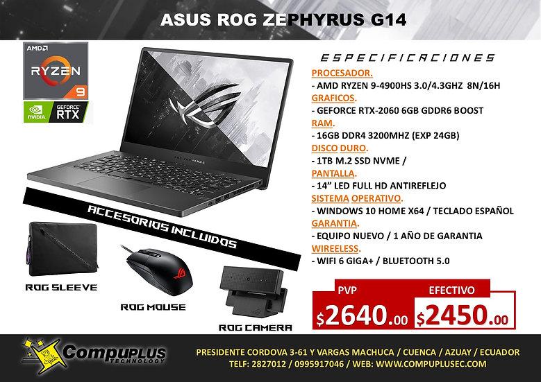 ASUS ROG ZEPHYRUS G14 R9