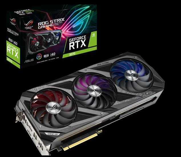 ASUS ROG STRIX RTX-3070 8GB