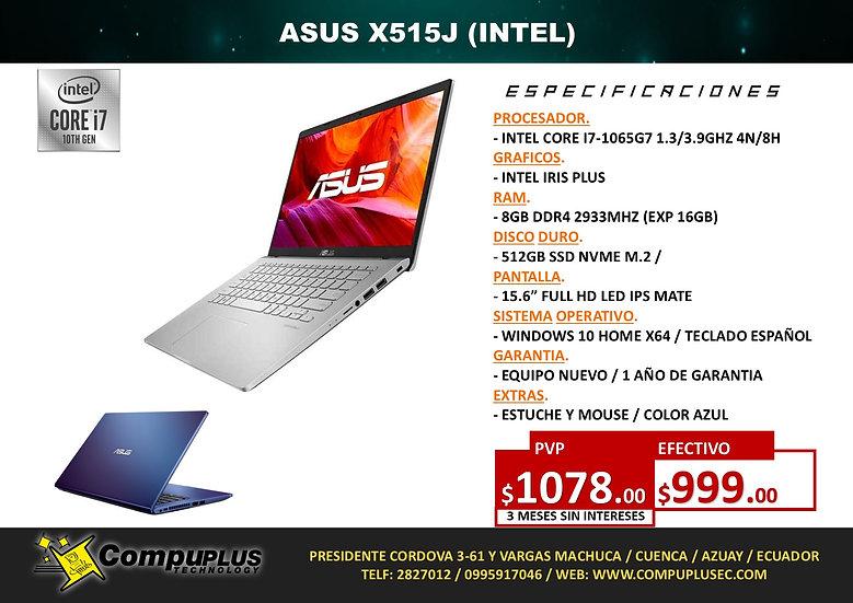 ASUS X515J (INTEL I7)