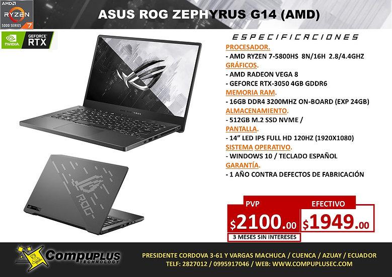 ASUS ROG ZEPHYRUS G14 (AMD)