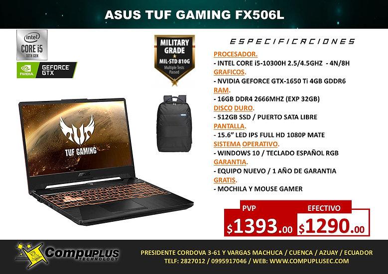 ASUS TUF GAMING FX506L (INTEL)