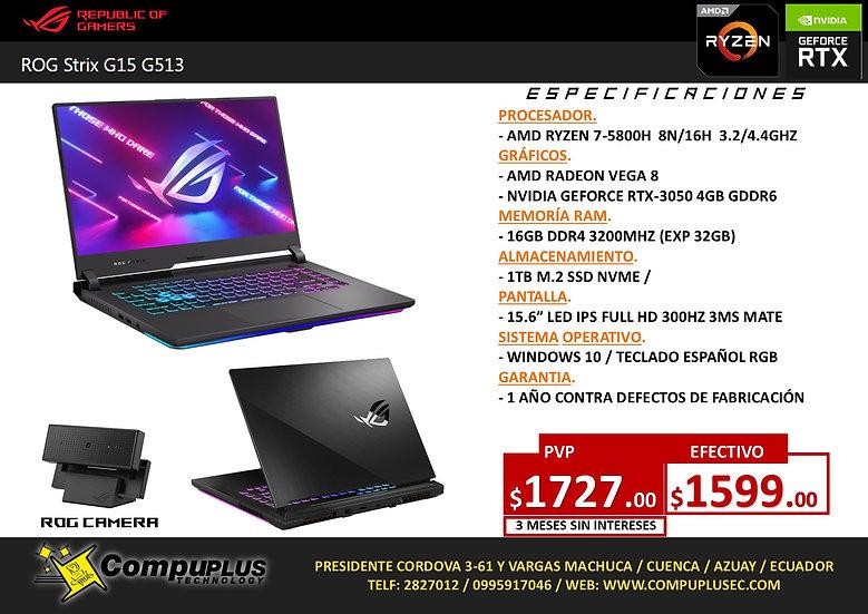 ASUS ROG STRIX G15 (AMD R7)