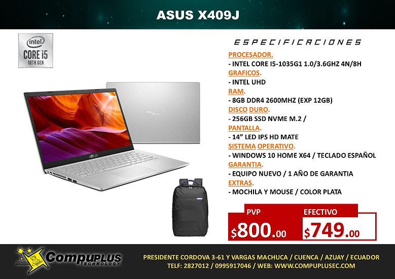 ASUS VIVOBOOK X409 (INTEL i5)