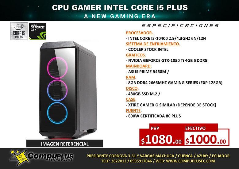 CPU GAMER INTEL I5 PLUS