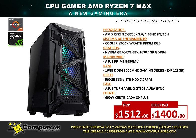 CPU GAMER AMD RYZEN 7 MAX