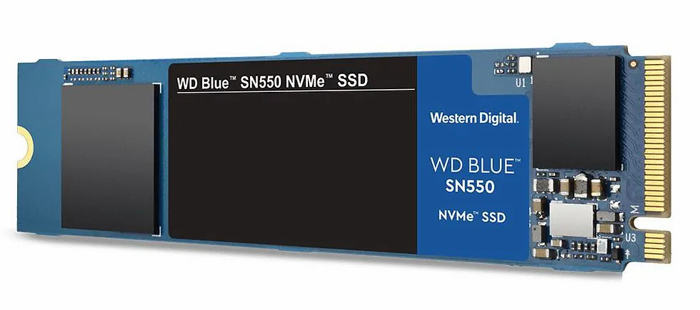 SSD WD Blue SN550 NVMe 250GB