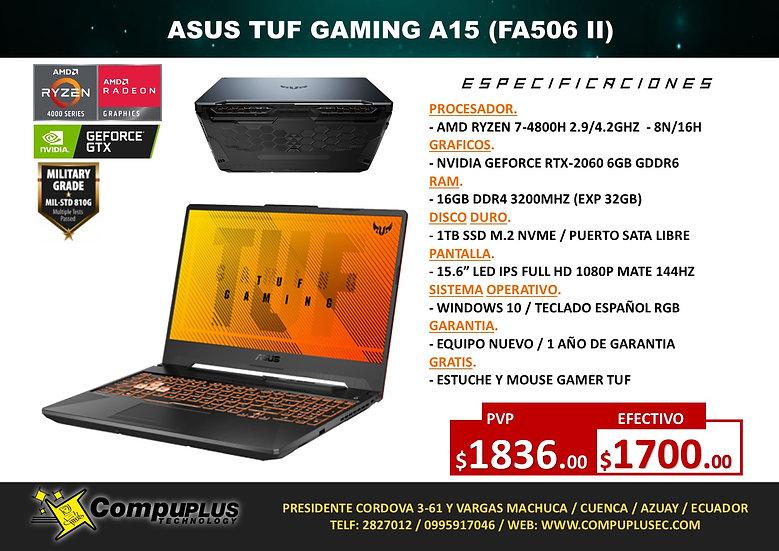 ASUS TUF GAMING A15 / R7