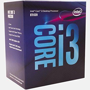 Procesador Intel Core i3-8100
