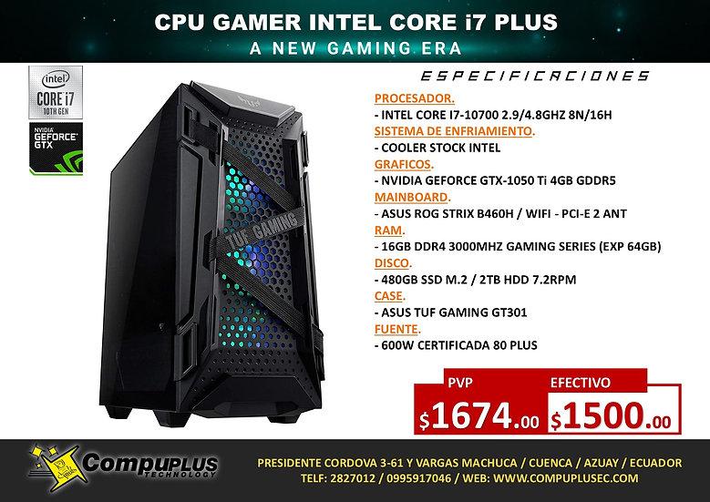 CPU GAMER INTEL CORE I7 PLUS