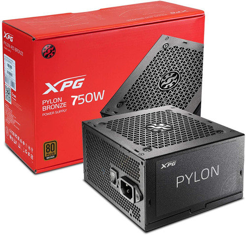 XPG PYLON 750W 80 PLUS BRONZE CERTIFICADA