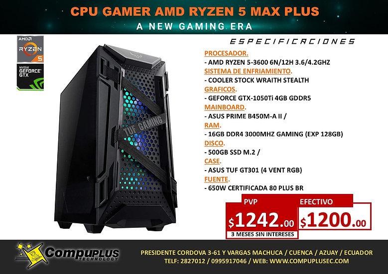 CPU GAMER AMD RYZEN 5 MAX PLUS