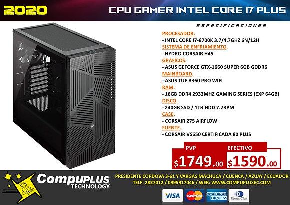 CPU GAMER INTEL I7 MAX++