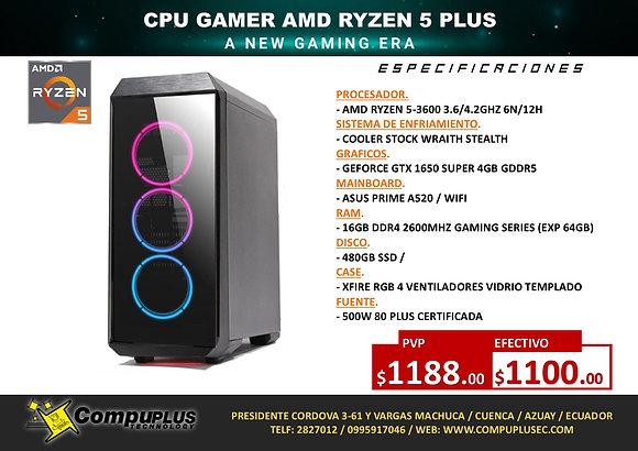 CPU GAMER AMD RYZEN 5 PLUS