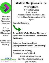 Nov 7 2019 Medical Marijuana in the Work