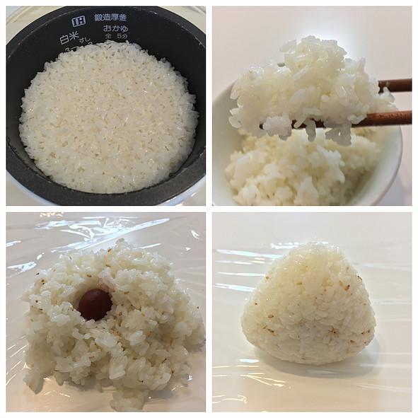 自然米:炊飯後
