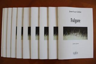 """""""Fulgure"""" pour piano publiée aux éditions Delatour France / """"Fulgure"""" for piano"""