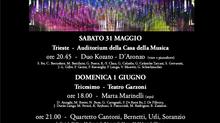 """Ma pièce """"Fulgure"""" pour piano ce soir à Trieste / My piano piece """"Fulgure"""" in Trieste tonight"""