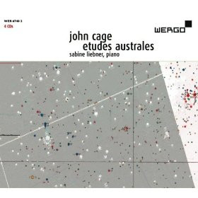 """John Cage : les """"Etudes australes"""", Livres I à IV par Sabine Liebner chez Wergo"""