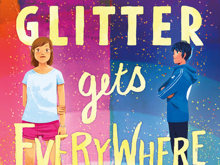 I love this GLITTER GETS EVERYWHERE trailer! Check it out on Twitter @