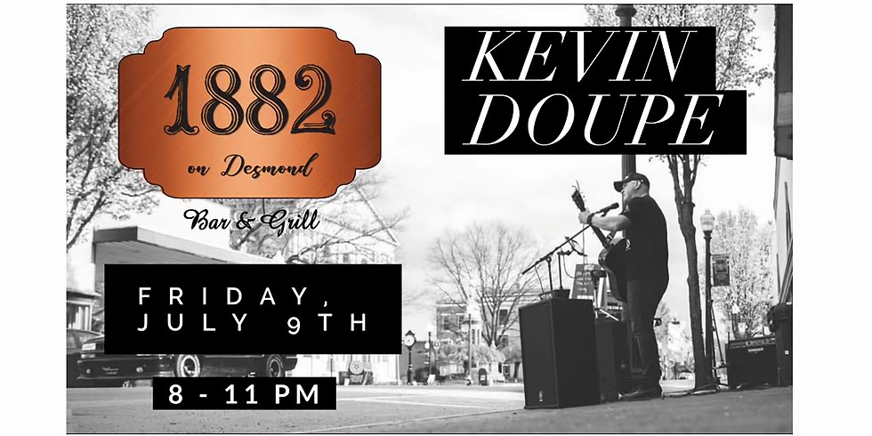 Live Music: Kevin Doupe