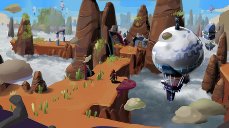 Rock Square Thunder - Biome 2 Concept