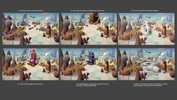 Rock Square Thunder - Biome 2 Concept Mo