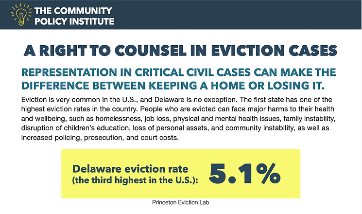 Right to Counsel in Eviction Cases