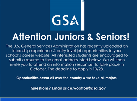 U.S. General Services Administration Internships & Entry Level Jobs