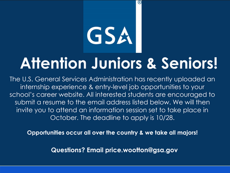 U.S. General Services Administration Internships & Entry Level Jobs