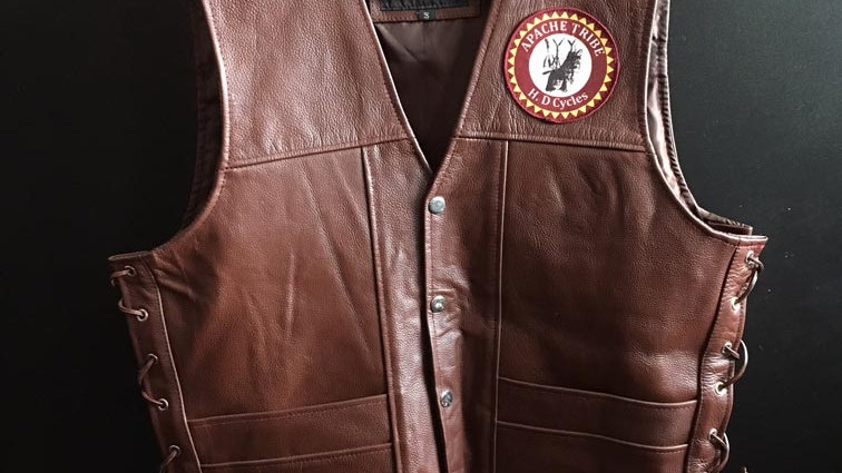 Gilet in pelle HD Cycles