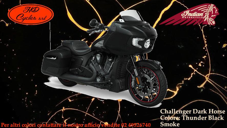 Indian Challenger Dark Horse