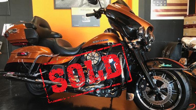 Harley Davidson usata modello Ultra Limited 2014