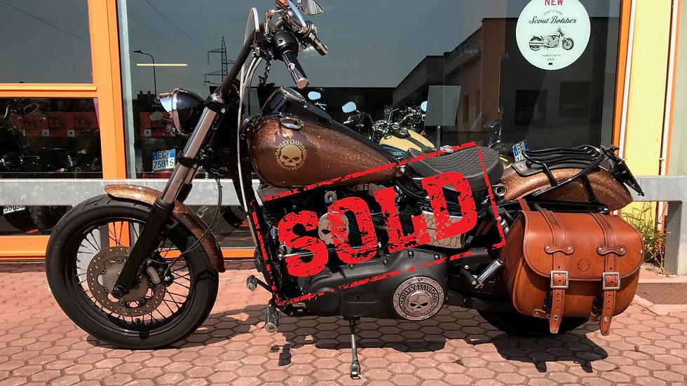 Harley Davidson Dyna Street Bob 2011