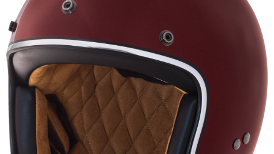 Casco Indian Open Face Red