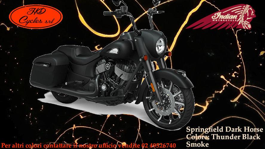 Indian Sprinfield Dark Horse